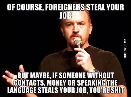For the ones verbally and physically attacking immigrants in the UK