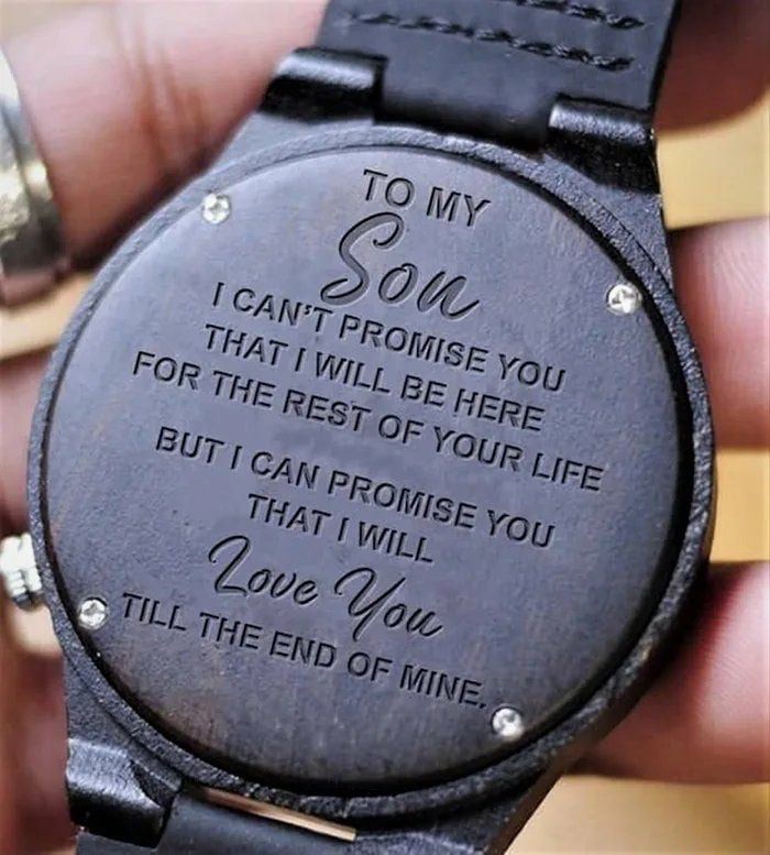 I love you son !