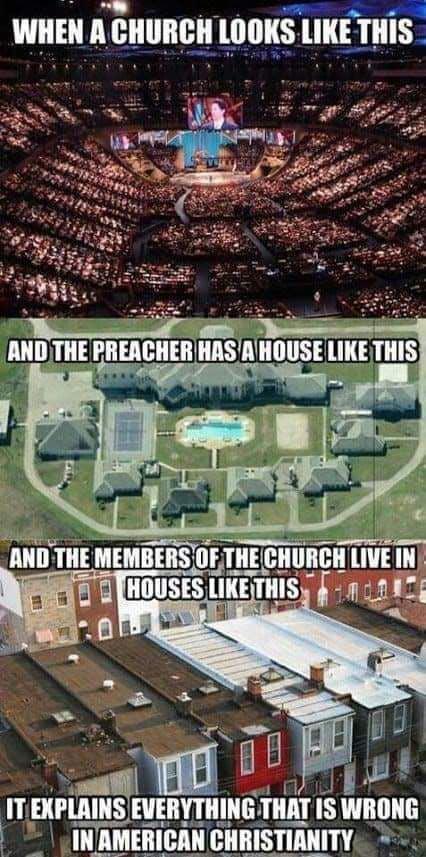 Churches are evil.