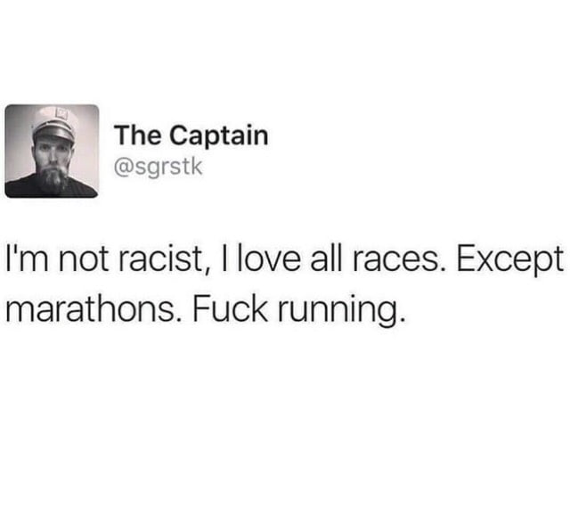 Those damn marathons