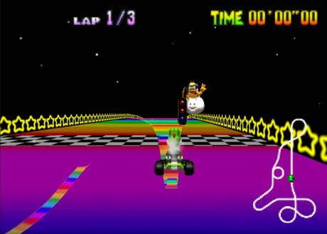 Rainbow Road 64