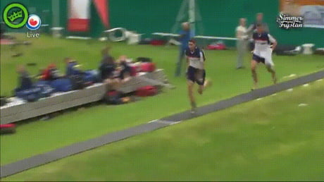 The new meaning to long jump.