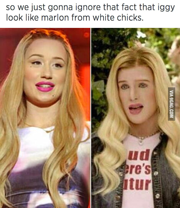 Iggy the white chick?