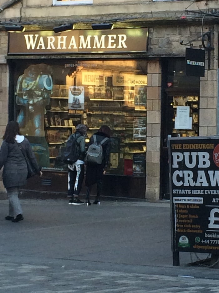 Found in Edinburgh! Dedicated to only Warhammer stuff!!!