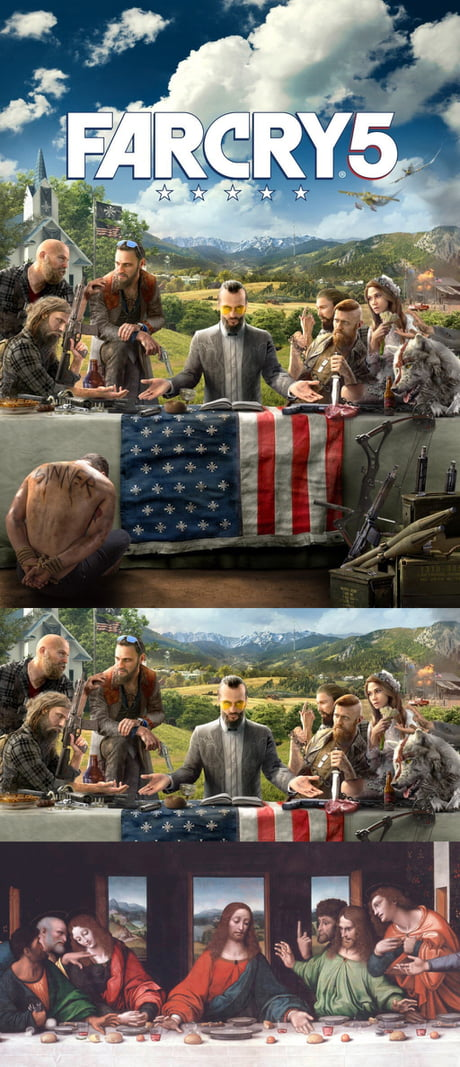 Far Cry 5 - The last Supper