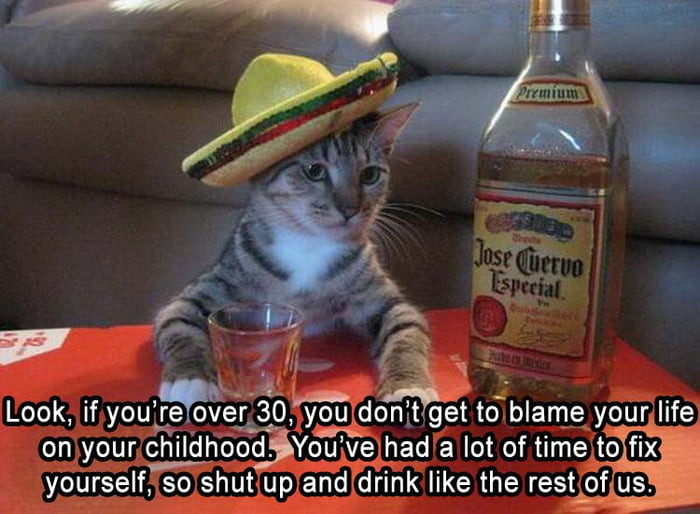 Now pass the tequila