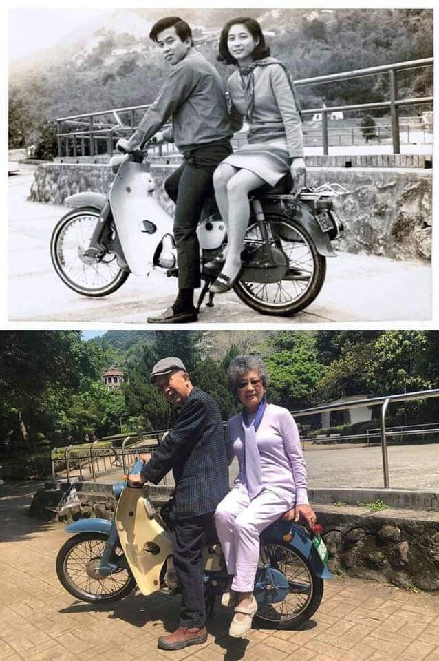 1967 to 2018 same bike, same couple