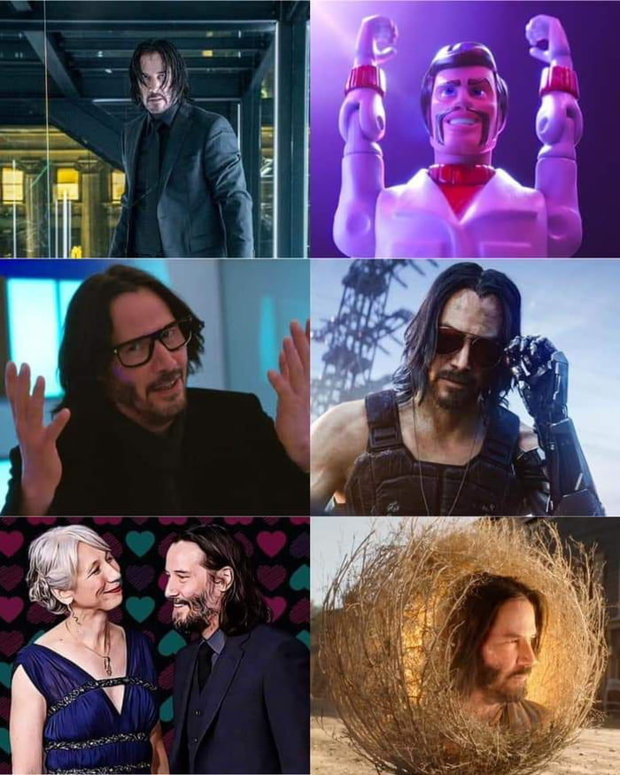 What a year for Keanu