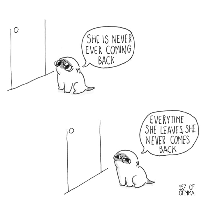 Pawsome Comics Portray What It's Like Living With A Pugtato comics  2018