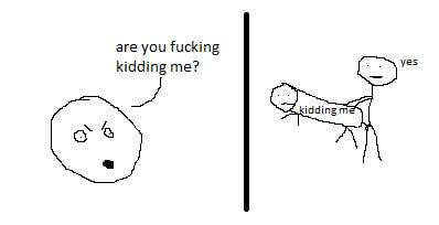 Le porly drawn meme