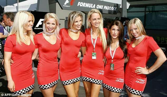 "A moment of silence as Grid Girls get banned from Formula 1 because they're ""sexist"""