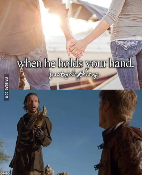 Guy holds your when hand a This Is