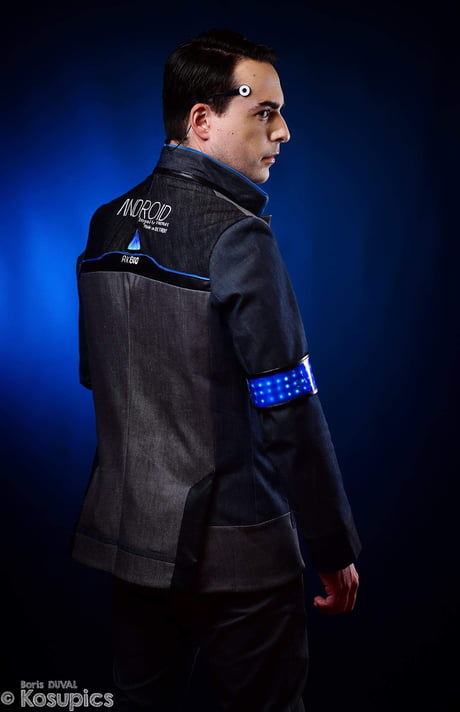 My Connor Cosplay From Detroit Become Human I Made My Own Jacket 9gag