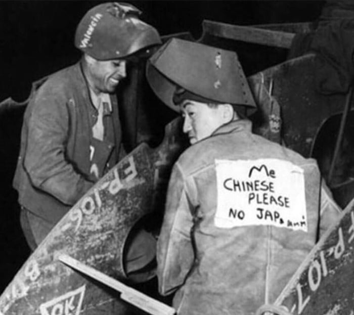 Worker in California after Pearl Harbor 1942