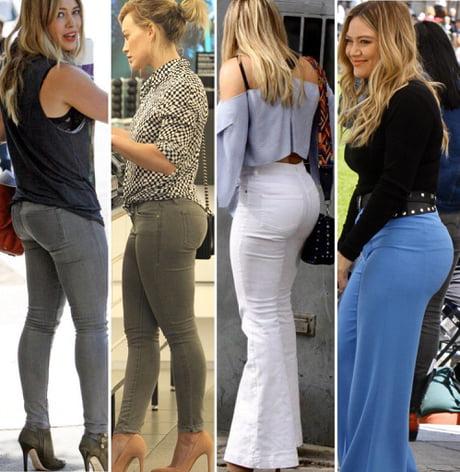 Ass hilary duff Hilary Duff