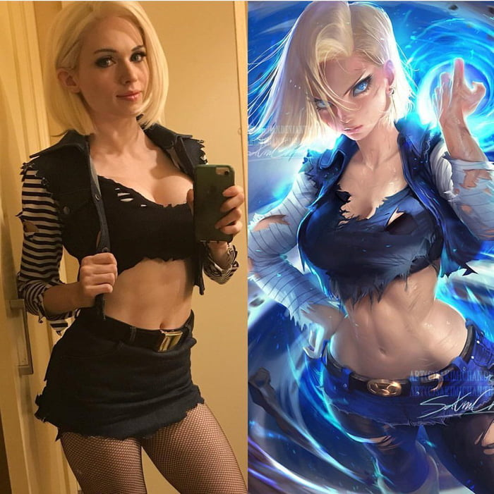 Android 18 by Amouranth