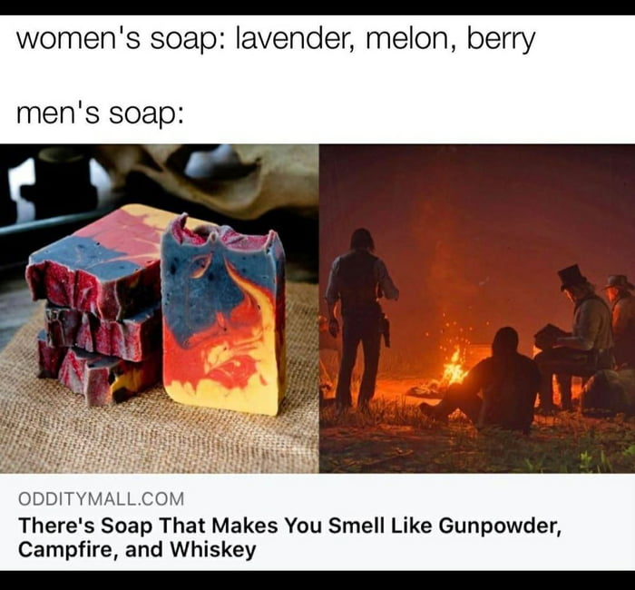 A manly smell