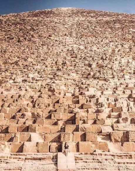 Big Pyramid in Giza Egypt 1