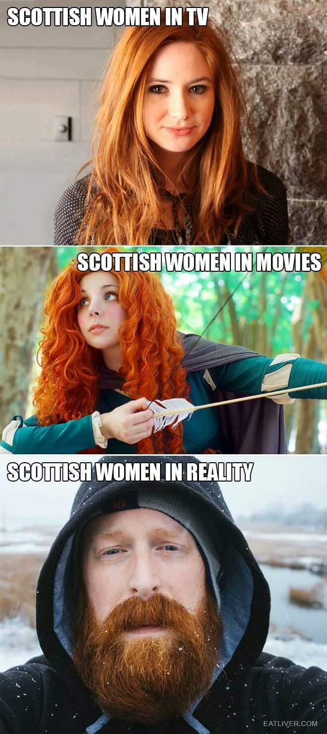I can attest... them scots