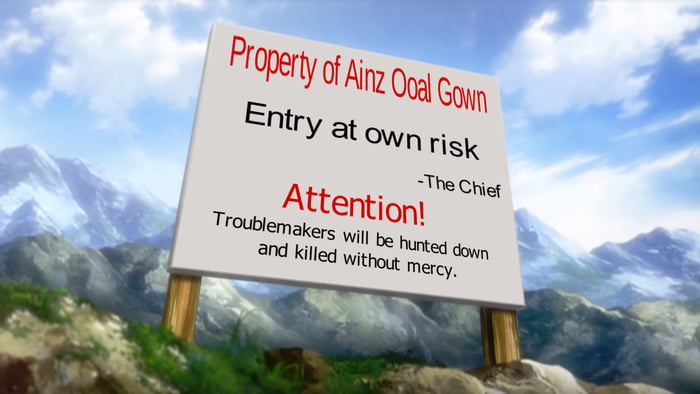 Not saying the village need such a sign as people will ignore it...just an idea....