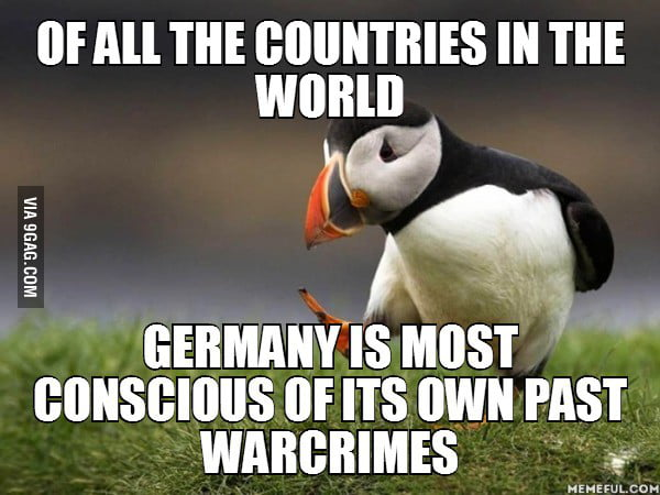 People always make fun of the Germans, but this is undeniable