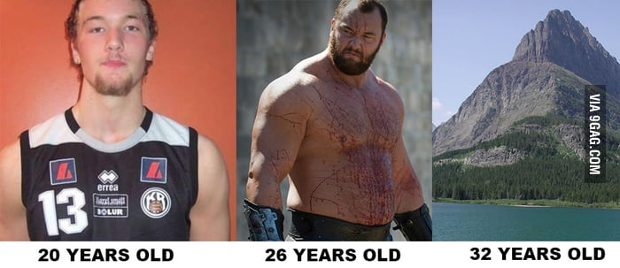 Gregor Clegane through the years