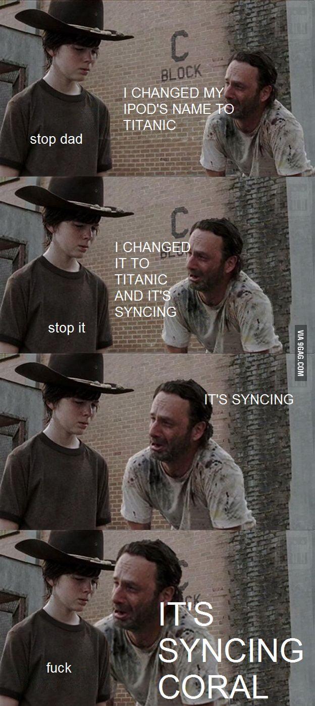 Stop it Dad!