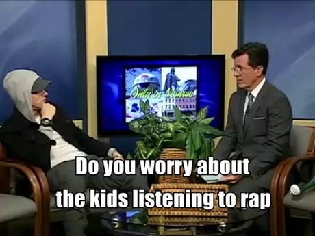 Eminem being Eminem