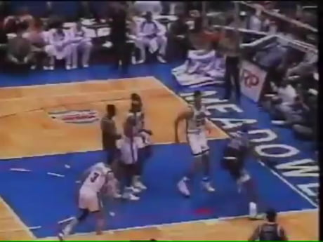 Young Shaq brings down the hoop