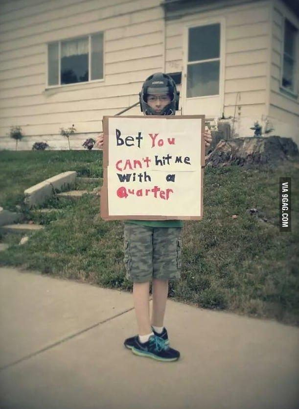 Screw a lemonade stand, this kid shows promise!