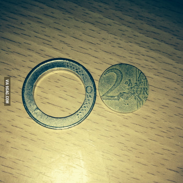 I broke my 2€ piece, I think I'll need a new one