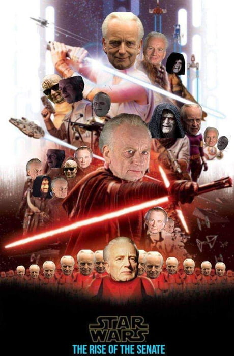Who Is Lowkey Excited That Palpatine Is Back Because Of The