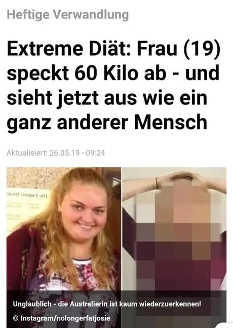 Frau 60 kg