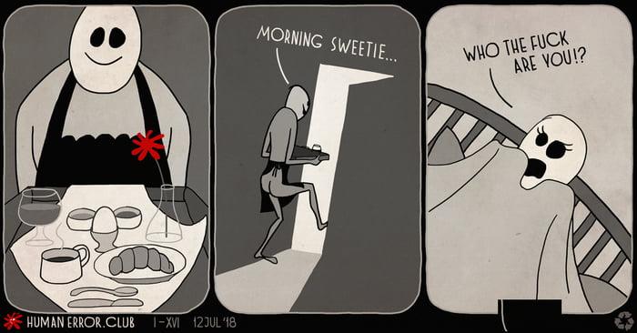 Error XVI: The breakfast in bed