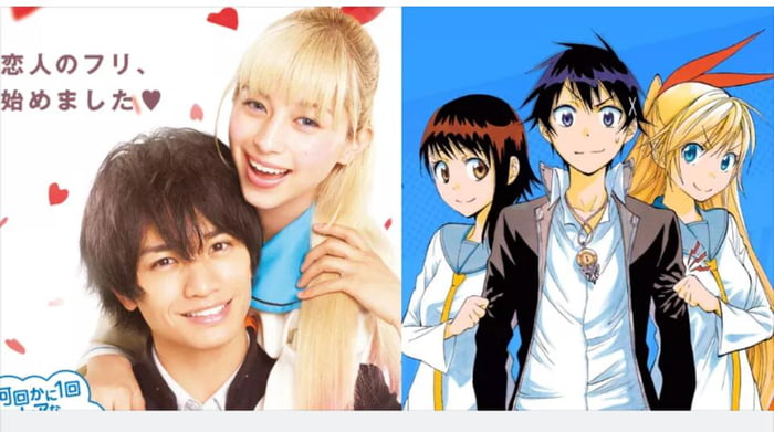 First look of Live Action Nisekoi cast in costume