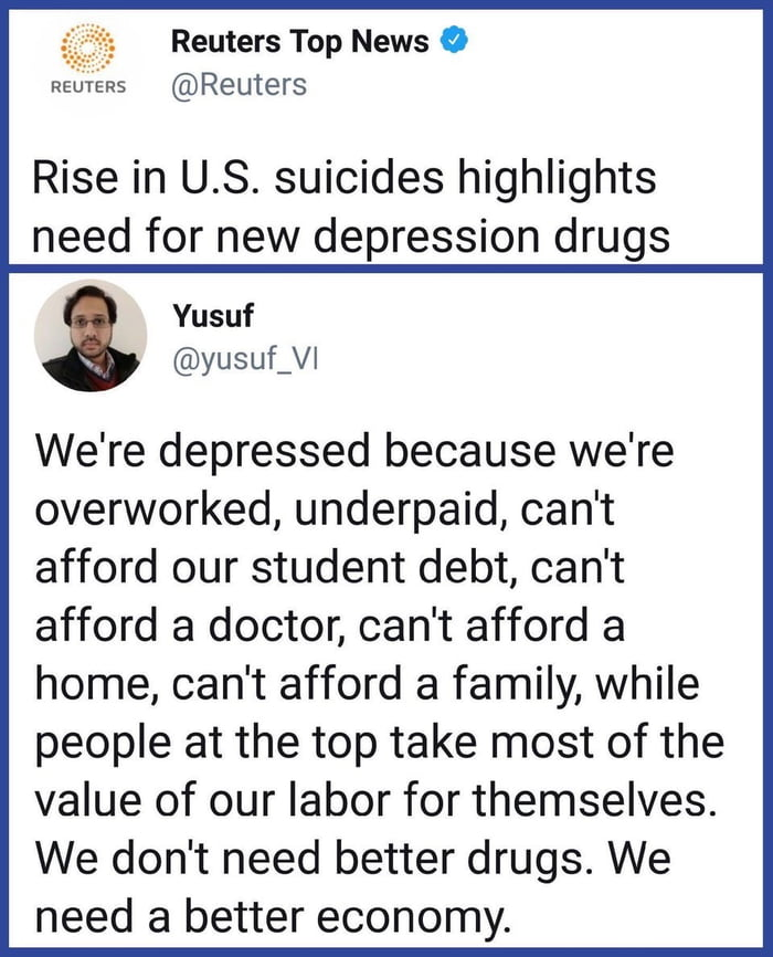 America : best i can do is a drug that trick your brain into thinking you love this land