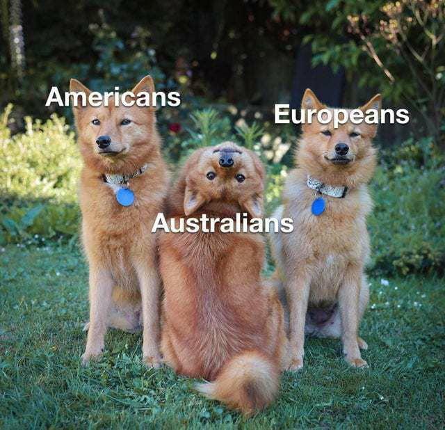 Cute Australians.