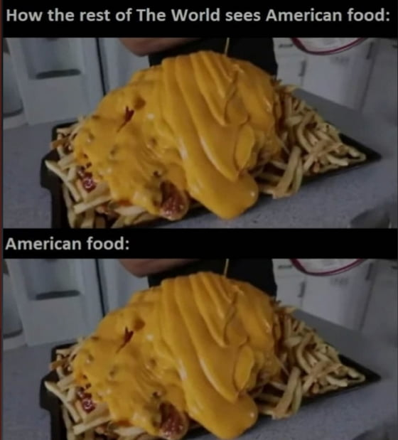 Wait it's all Cheese... Always has been