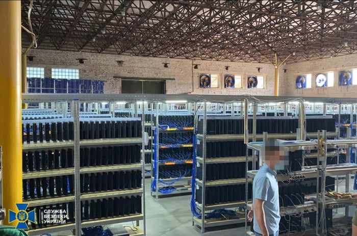 Ukrainian police just uncovered a cryptocurrency mining operation consisting of 3800 PS4 consoles!