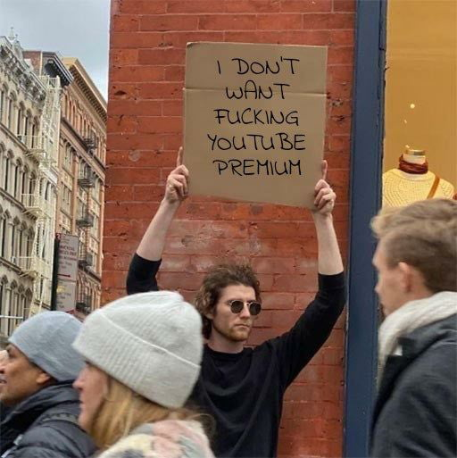 Nobody wants it
