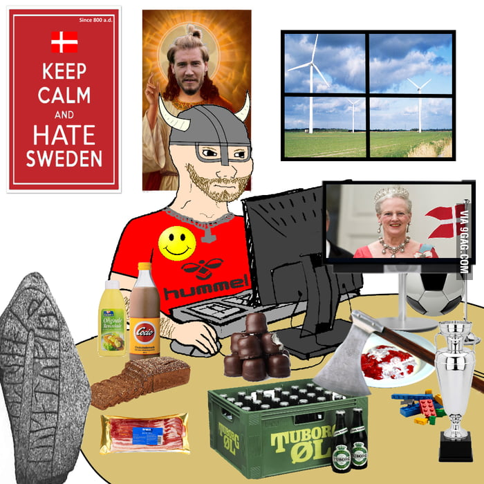 When I tell people I'm from Denmark.
