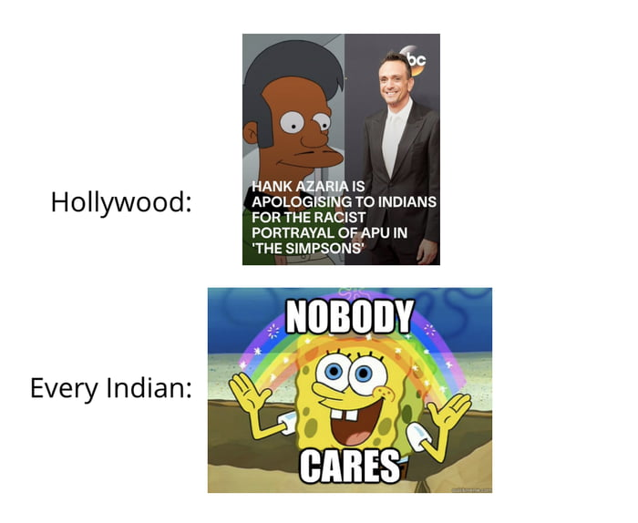 It's literally only Americans who find it offensive, Indians don't care, in fact, they love Azaria's portrayal