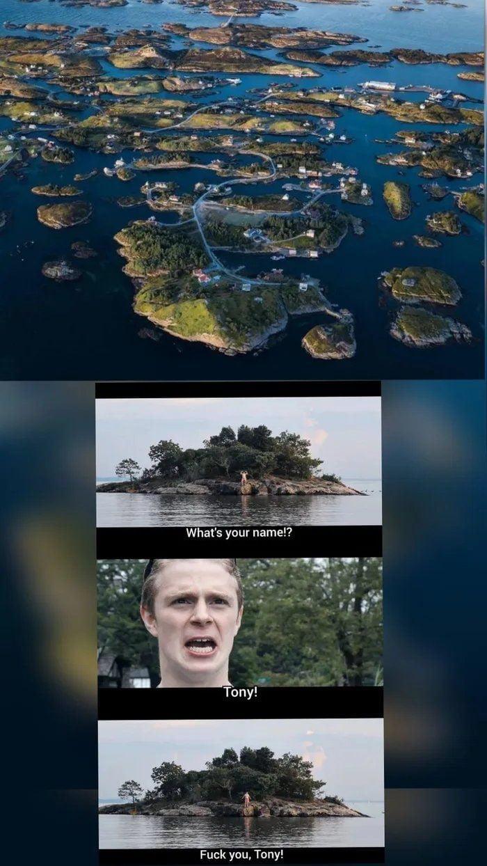 Norwegan neightborhood be like: