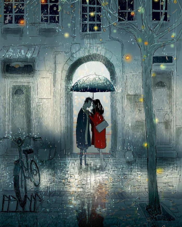 10+ Heartwarming Comics Show That Love Is Always In The Details comics arts  love Cute