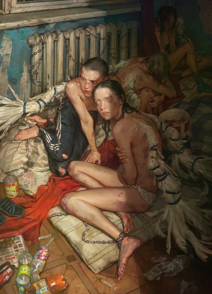 A normal piece of art from Russian artist