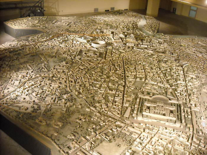 Awesome Model of ancient Rome