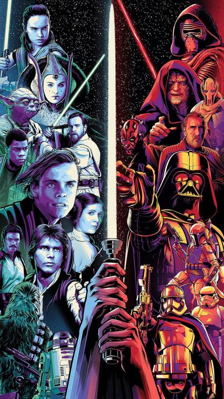 Star Wars Celebration Art Phone Wallpaper 1920 X 1080 9gag