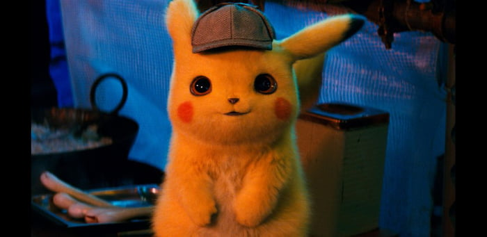 So... Ryan Reynolds voices Pikachu in the upcoming pokemon movie. What a weird time to be alive.