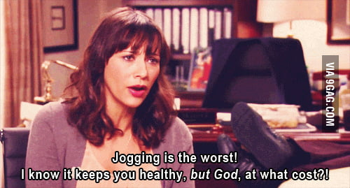 Jogging is the worst!