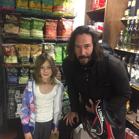 Good news everyone first keanu pic of 2018